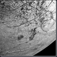 Europa (Thera and Thrace Macula (2dark features)