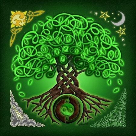 Trees In Mythology And Symbolism Icewolves Of Europa