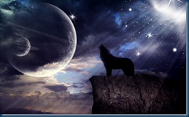 Calling the Song of the Moon Wolves