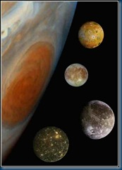 Jupiter Moons Family inc Europa