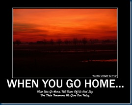 When You Go Home