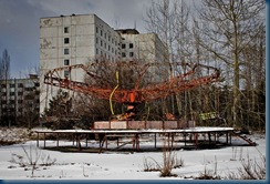 Pripyat Fairground-most contaminated part of town