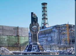 Memorial to Chernobyl Disaster Workers
