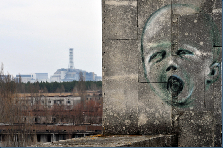 Nuclear Plant from Pripyat