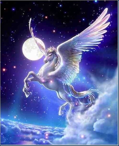 Pegasus the Winged Horse ~ The Tale of Pegasus and ...