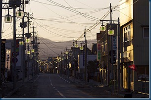 japan exclusion zone deserted streets