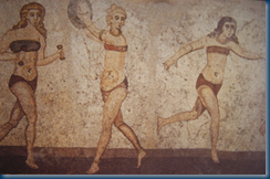 Roman images of Female Athletes