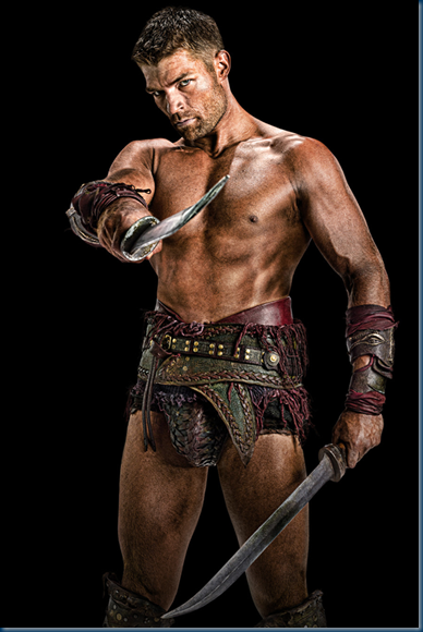 Armed Male Gladiator