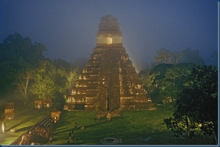Ancient Mayan Temple Feature