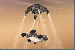 Mars Rover CURIOSITY Is Coming to Town! (5/6)
