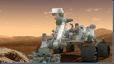Mars Curiosity_Image Credit: Reuters