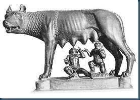 Romulus and Remus_She-wolf
