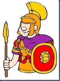Roman Soldier clip art