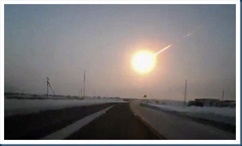 Russian Fireball Explodes over Chelyabinsk–And it's all the US's Fault!!!! (1/6)