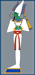 Osiris, Eygptian god of the Underworld_Credit Jeff Dahl