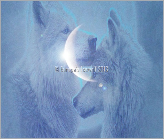 Europa's Moon-Ice Wolves