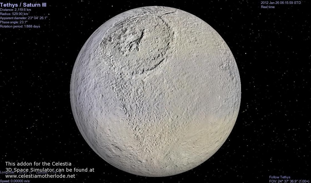 moon of saturn ithara chasm pics about space