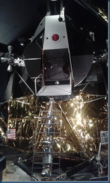 Fine US spacecraft for astronaut to relax in...
