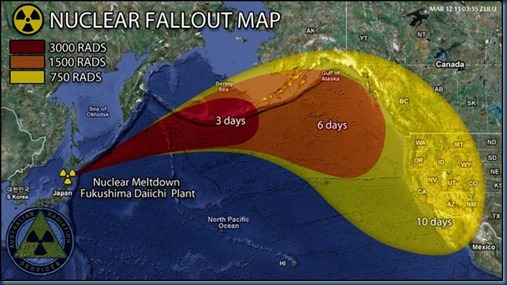 Fukushima-Nuclear-Radiation-Spread-Map