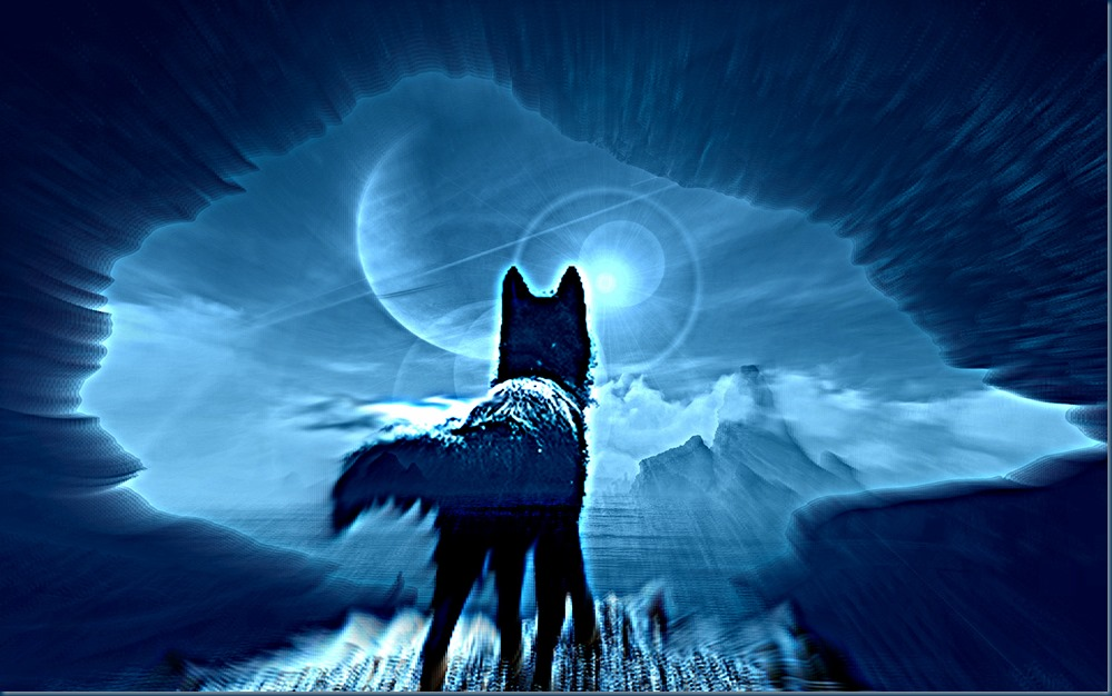 Black wolf of Mars C_Image: Europa's Icewolf