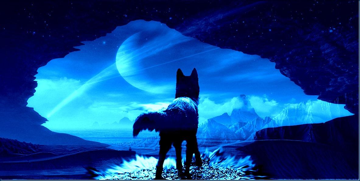 Black wolf of Mars B_Image: Europa's Icewolf